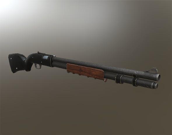 Shotgun Remi 870 variation - 3DOcean Item for Sale