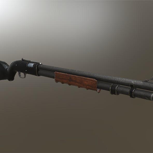 Shotgun Remi 870 variation