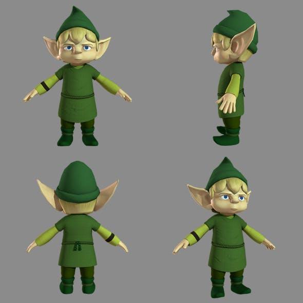 Elf Grumpy - 3DOcean Item for Sale