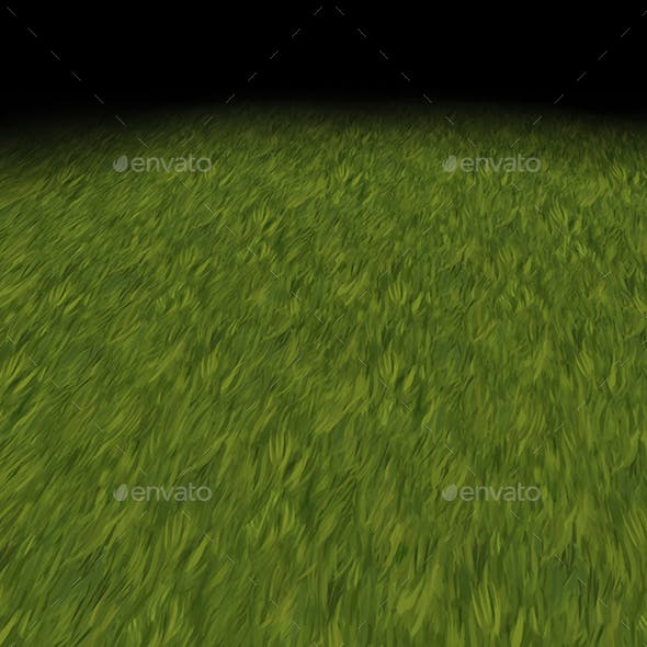 Grass texture Tile 2 (hand painted)