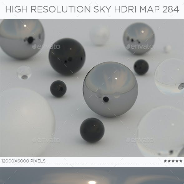 High Resolution Sky HDRi Map 284