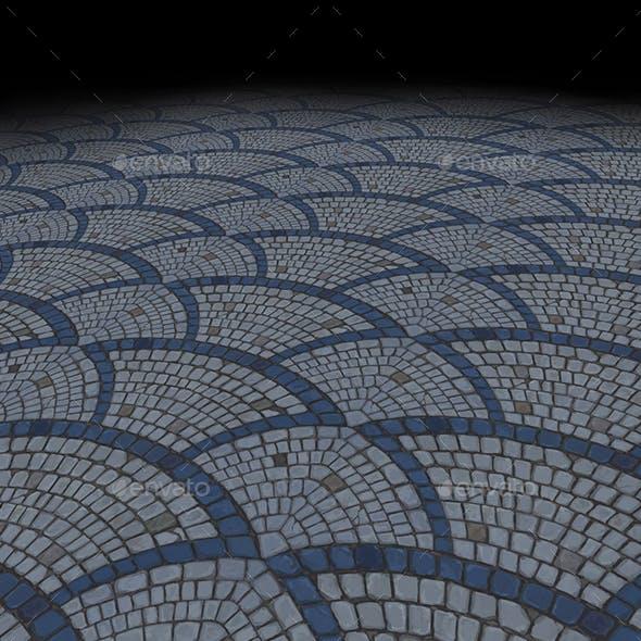 Medieval floor Tile 3 (hand painted) - 3DOcean Item for Sale
