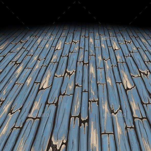 Wood floor planks Tile 1 (hand painted texture)