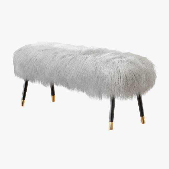 Banquette Mongolian Lamb Fur