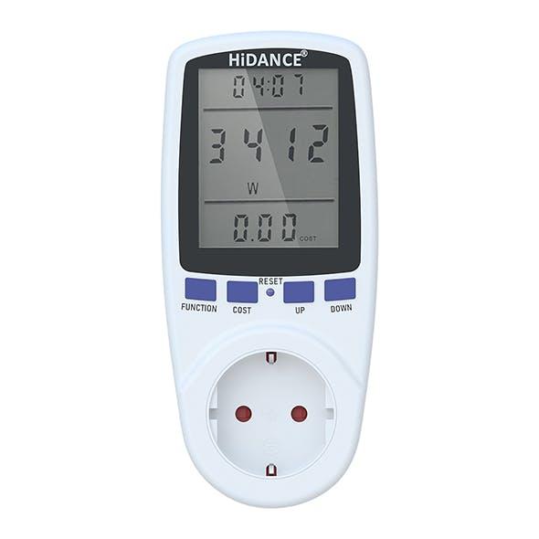 Voltmeter HiDANCE 3D model - 3DOcean Item for Sale