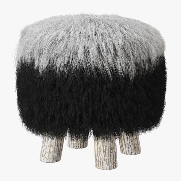 Icelandic Sheepskin Chair - 3DOcean Item for Sale