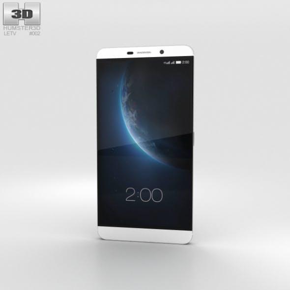 LeTV Le Max Pro Silver - 3DOcean Item for Sale