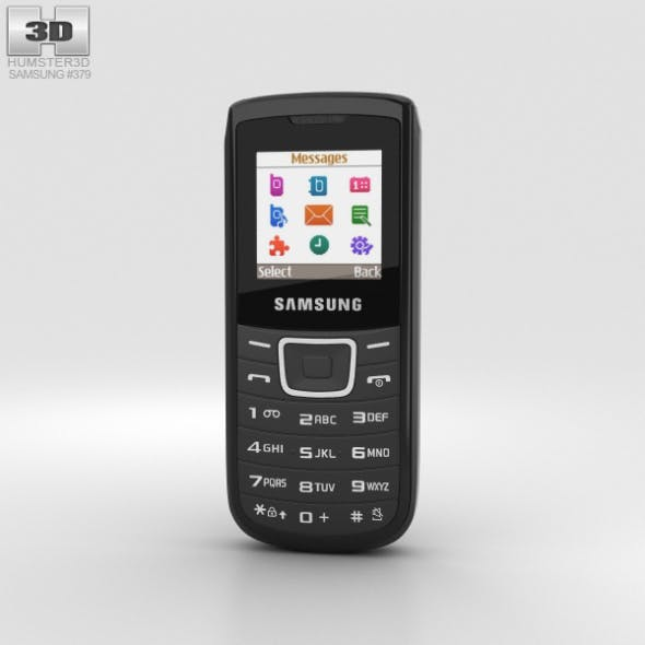 Samsung E1100 Black - 3DOcean Item for Sale
