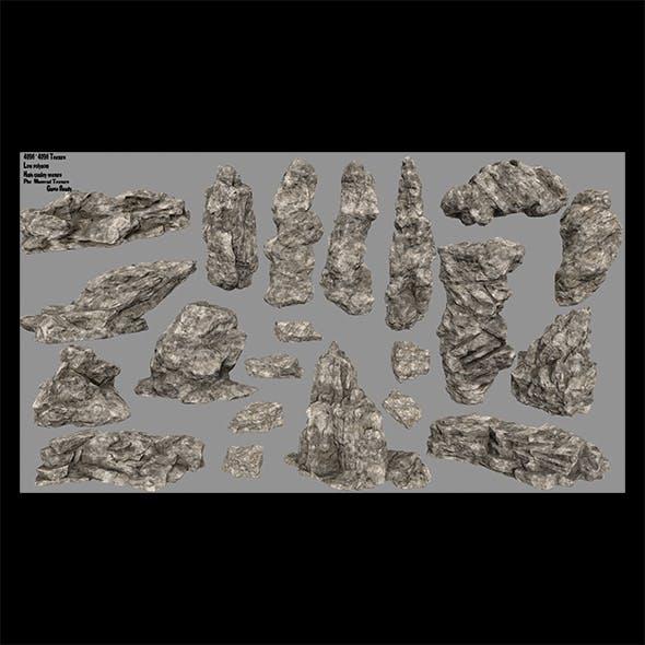 desert rock 3 - 3DOcean Item for Sale