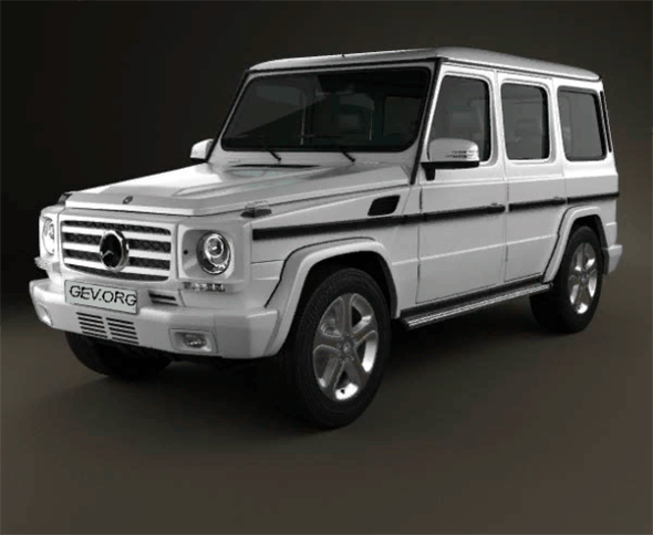 Mercedes-Benz G-Class 2013 - 3DOcean Item for Sale