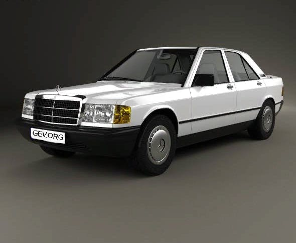 Mercedes-Benz 190E - 3DOcean Item for Sale