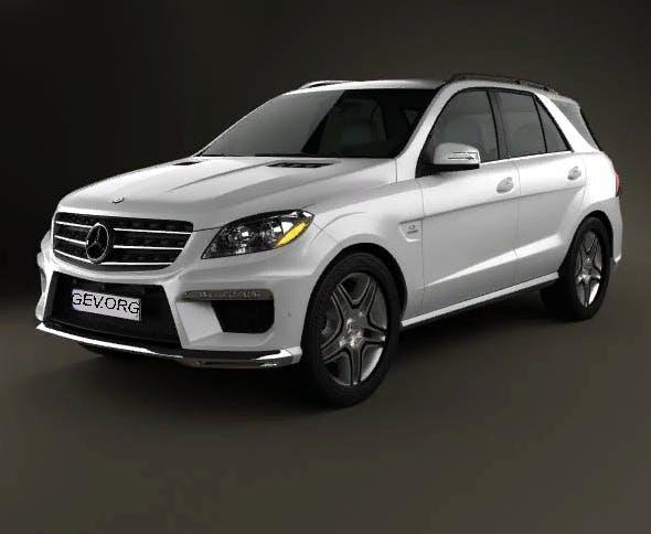 Mercedes-Benz ML 63 AMG - 3DOcean Item for Sale