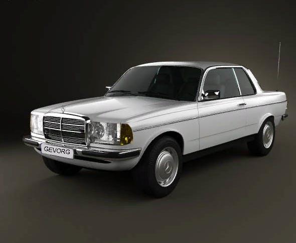 Mercedes-Benz 240 W123 - 3DOcean Item for Sale