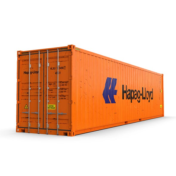 40 feet High Cube Hapag Lloyd shipping container