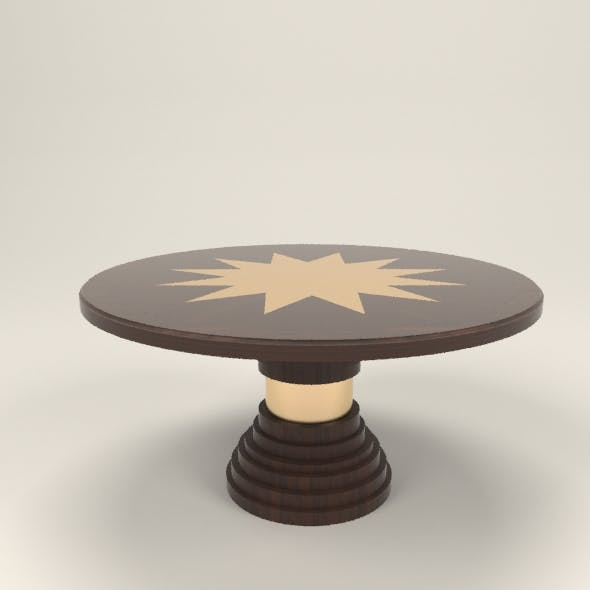Star table - 3DOcean Item for Sale