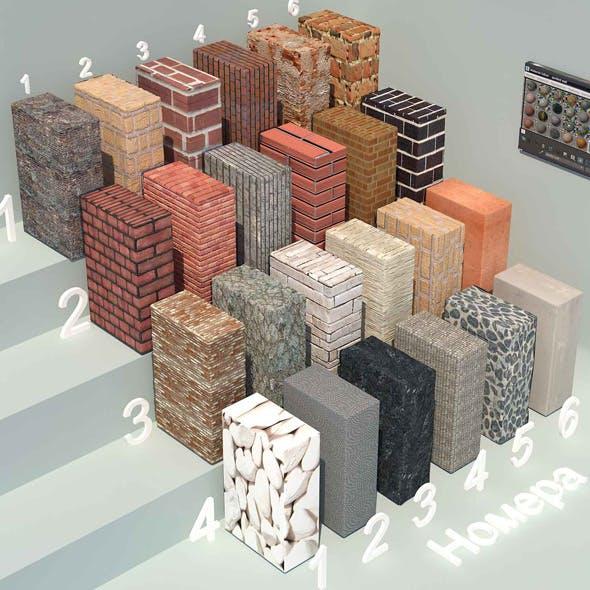material stone - 2 (24 materials)