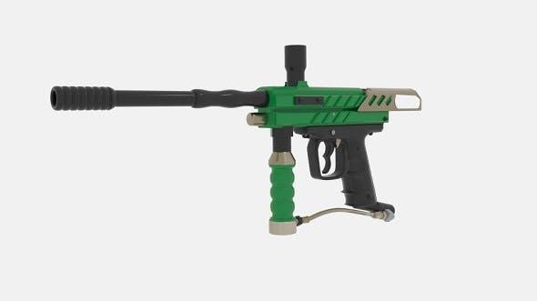 Paintball Guns Paintball - 3DOcean Item for Sale