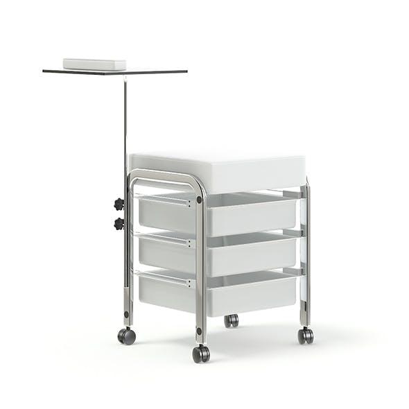 Manicure Table 3D Model - 3DOcean Item for Sale
