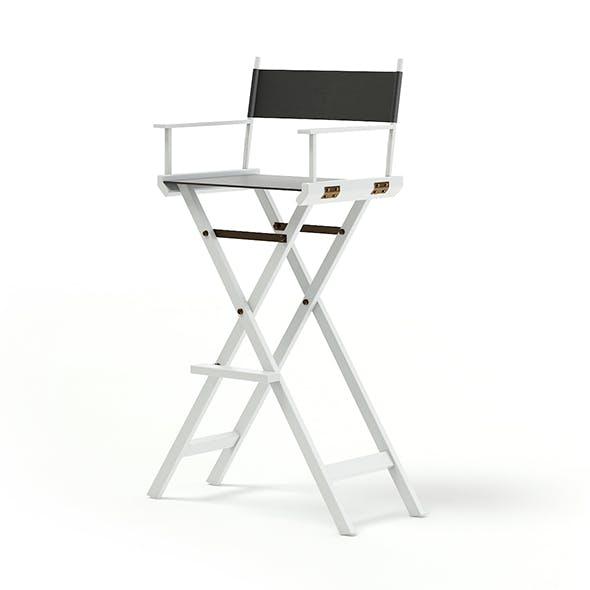 Makeup Chair 3D Model