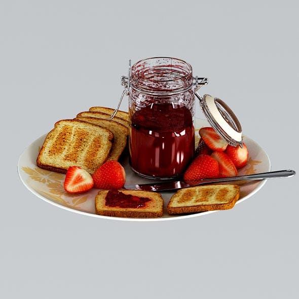 Breakfast - 3DOcean Item for Sale