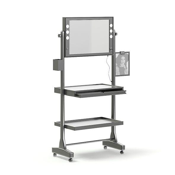 Makeup Station 3D Model - 3DOcean Item for Sale