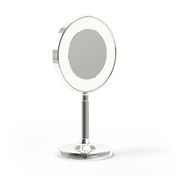 Small Mirror 3D Model - 3DOcean Item for Sale