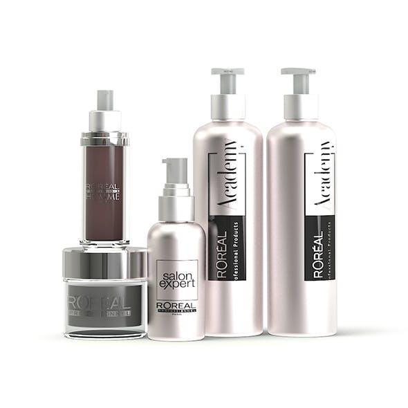 Cosmetics 3D Model - 3DOcean Item for Sale