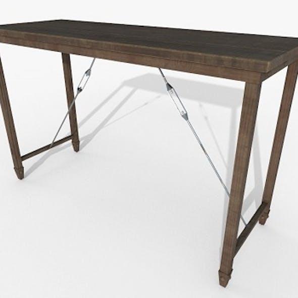 Wooden Table PBT Materials