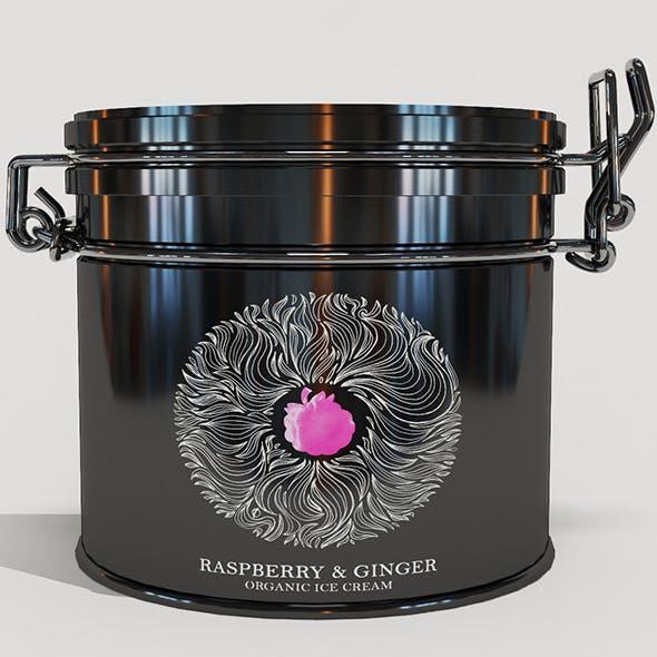 Jar for cream - 3DOcean Item for Sale