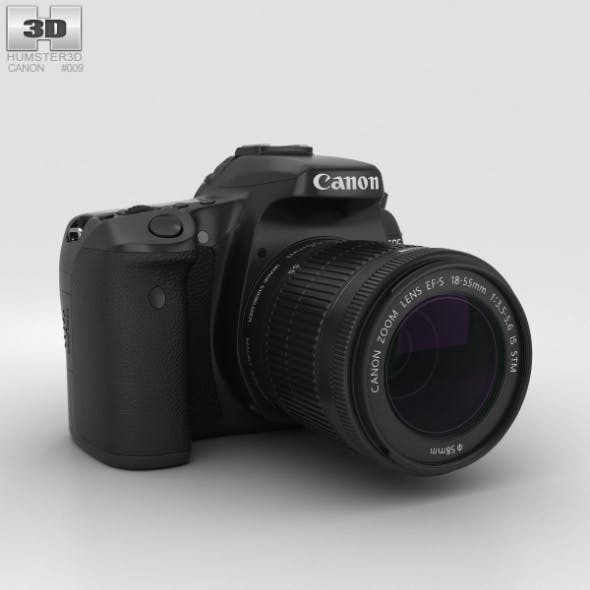 Canon EOS 70D - 3DOcean Item for Sale