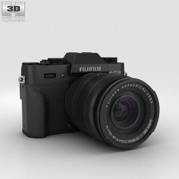 Fujifilm X-T10 Black - 3DOcean Item for Sale