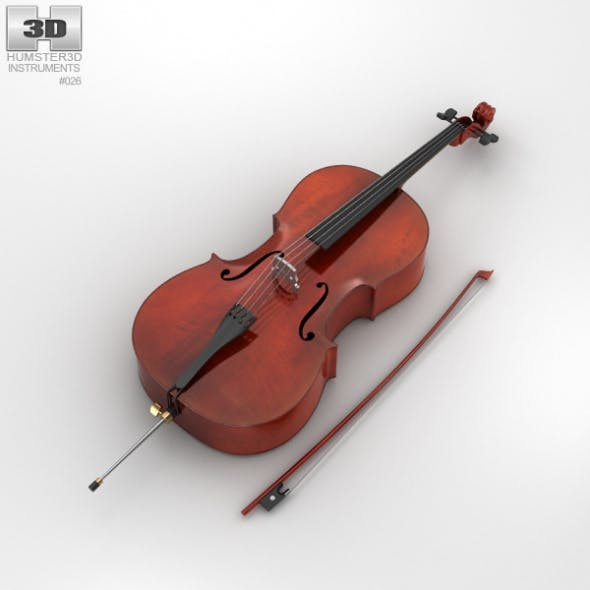 Cello - 3DOcean Item for Sale