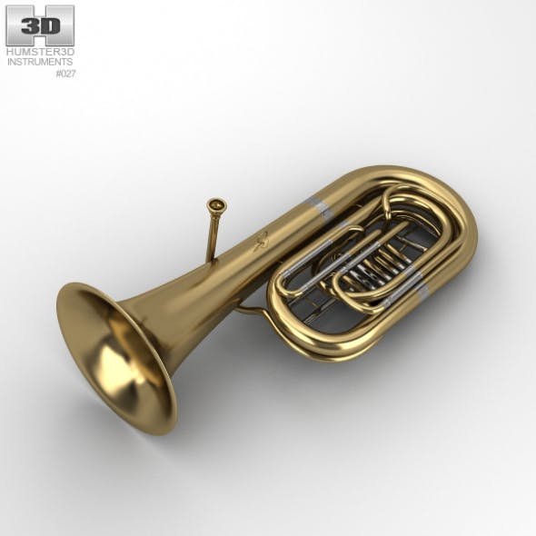 Tuba - 3DOcean Item for Sale
