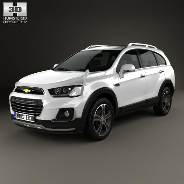 Chevrolet Captiva (JP) 2015 - 3DOcean Item for Sale