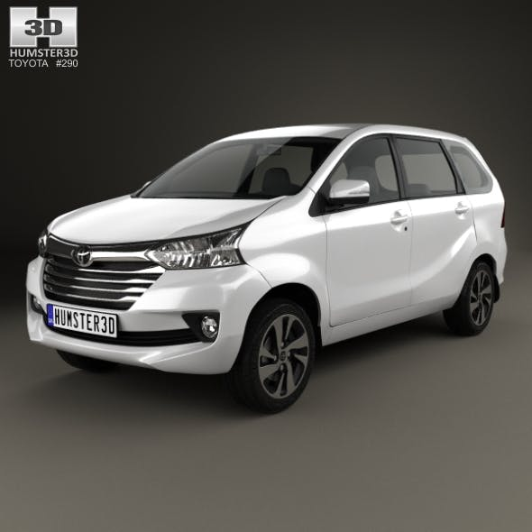 Toyota Avanza SE 2015 - 3DOcean Item for Sale
