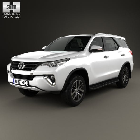 Toyota Fortuner VXR 2016 - 3DOcean Item for Sale
