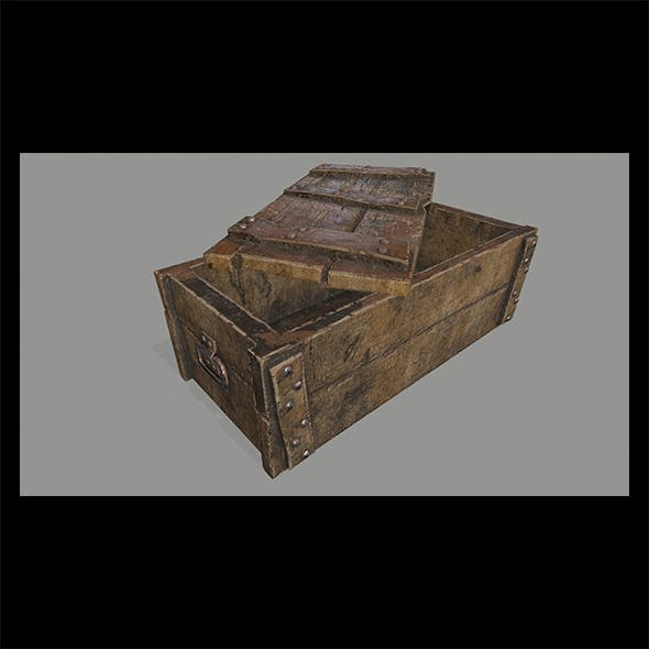 old_chest - 3DOcean Item for Sale