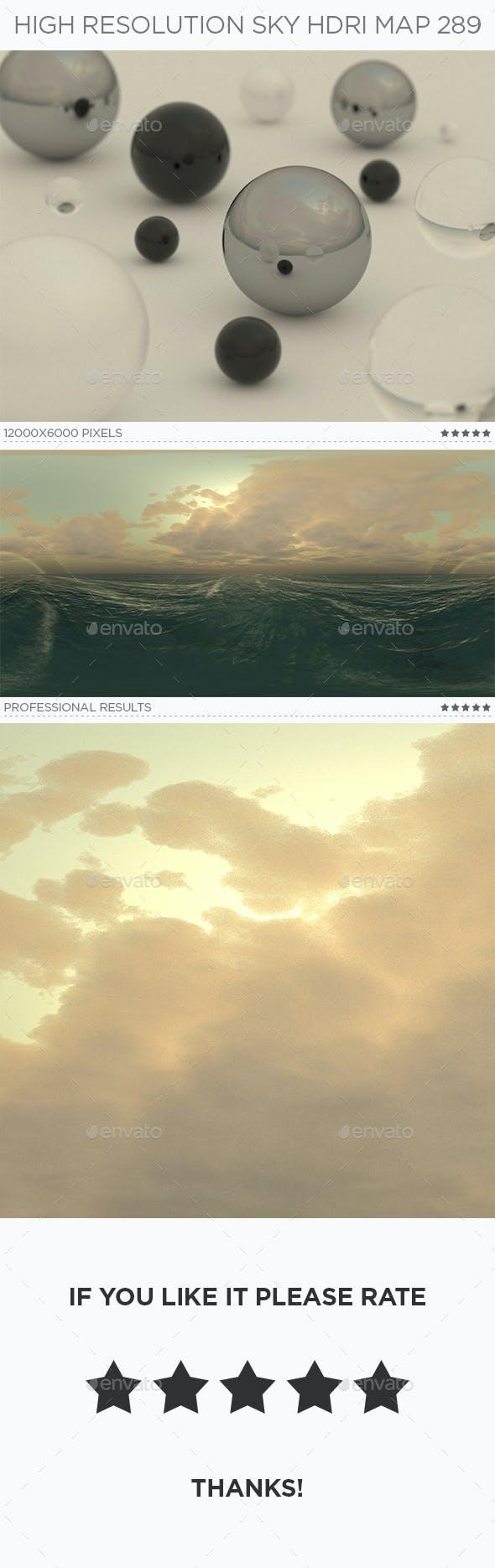 High Resolution Sky HDRi Map 289 - 3DOcean Item for Sale
