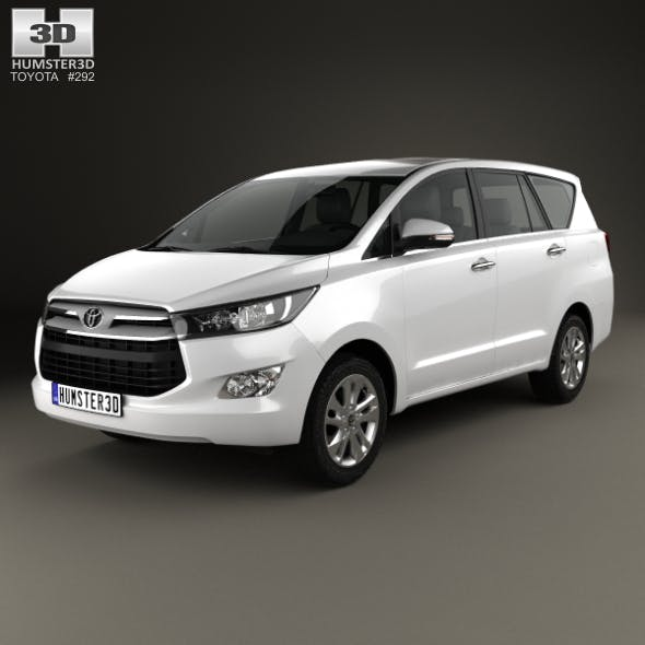 Toyota Innova G 2016 - 3DOcean Item for Sale
