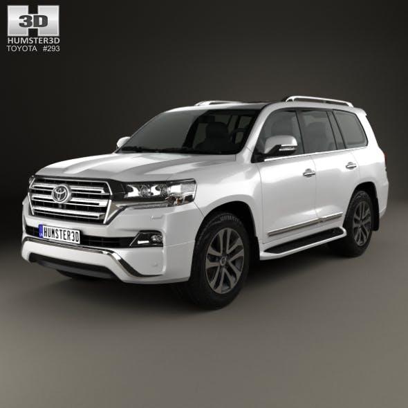 Toyota Land Cruiser VXR 2016 - 3DOcean Item for Sale