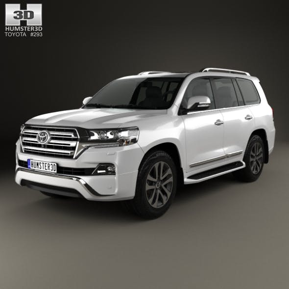 Toyota Land Cruiser VXR 2016