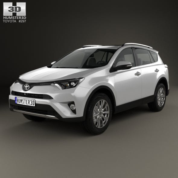 Toyota RAV4 VXR 2016 - 3DOcean Item for Sale