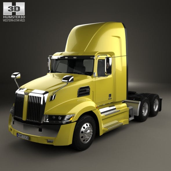 Western Star 5700XE Day Cab Tractor Truck 2014