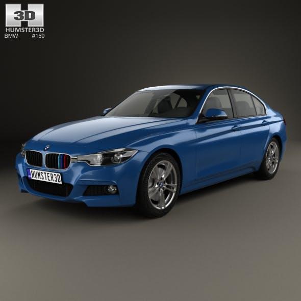 BMW 3 Series (F30) M Sport 2015 - 3DOcean Item for Sale