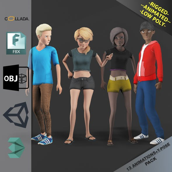 Cartoon Characters Pack3