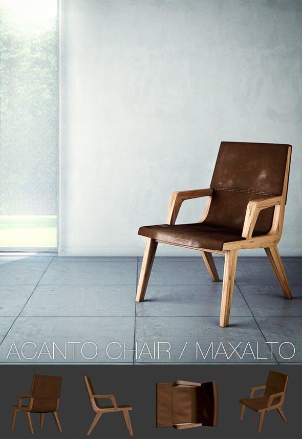 Acanto Chair / Maxalto - 3DOcean Item for Sale