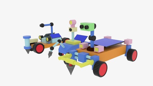 Moon Rover - 3DOcean Item for Sale