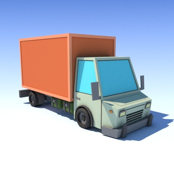 Truck - 3DOcean Item for Sale