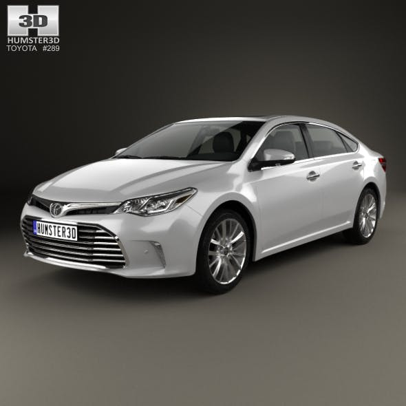 Toyota Avalon Limited 2015 - 3DOcean Item for Sale