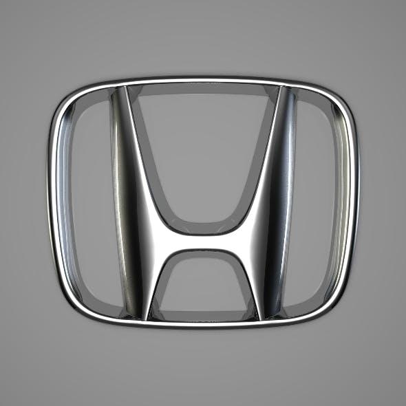 Honda Logo - 3DOcean Item for Sale